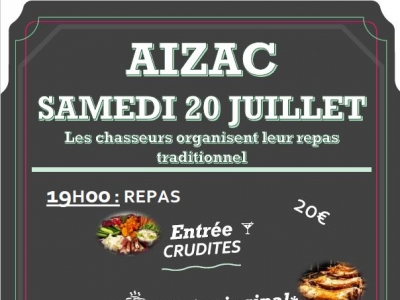 REPAS TRADITIONNEL A AIZAC