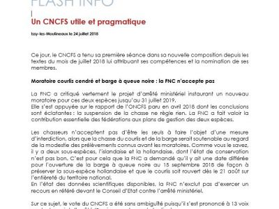 CNCFS - FLASH INFORMATION